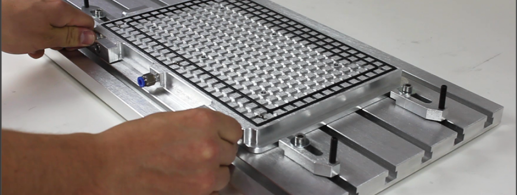 T Slot Plates Made From Aluminium And Steel Vacuum Tables Usa